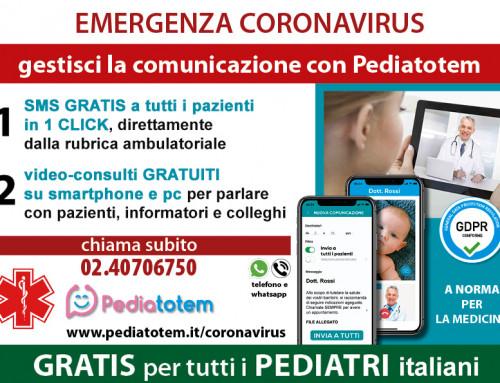 Emergenza Coronavirus – Pediatotem